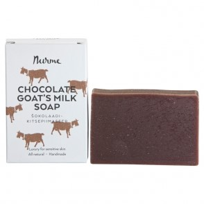 Chocolate goat's milk soap