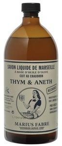 Marseille olijfolie zeep Tijm en Dille
