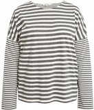 People Tree stripe pyjama shirt met lange mouw_