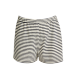 People Tree stripe pyjama short_