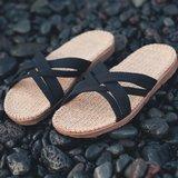 Shangies slippers zwart