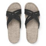 Shangies slippers dames zwart_