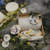 Munio Candle aromatische sojawas rondjes