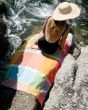 Mungo Folly beach towel fiddler crab_