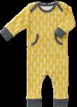 Fresk baby pyjama zonder voet Havre vintage yellow