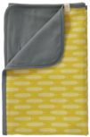 Fresk katoenen babydekentje Havre vintage yellow