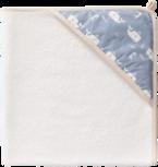 Fresk badcape Whale Blue Fog