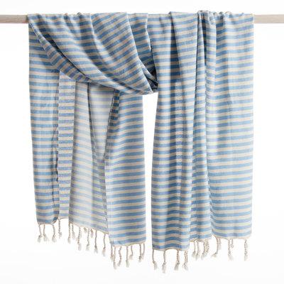 MOCCO hamamdoek Holiday soft blue