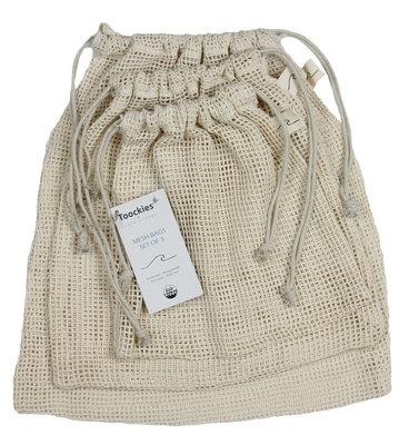 Toockies mesh bags (set van 3)