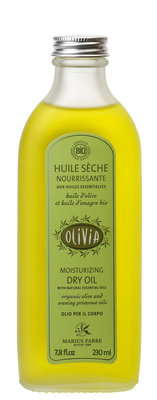 Organic moisturizing dry oil