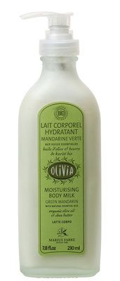 Organic moisturizing body milk