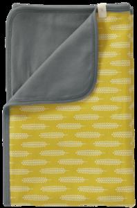 Fresk cotton babyblanket Havre vintage yellow