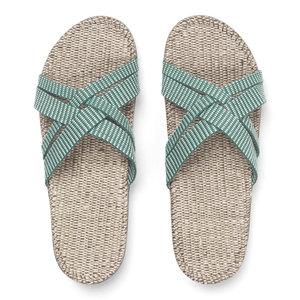 Shangies slipper groen