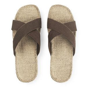 Shangies slipper bruin