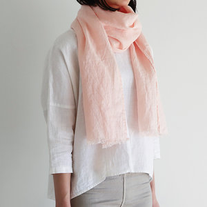 Lino en lina linnen sjaal
