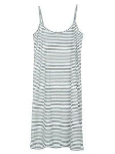Serendipity jersey strap dress nightcloud stripe