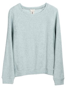 Serendipity cotton terry sweatshirt cloud