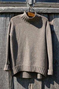 Pappus raglan trui met zadelschouder