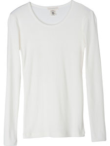 Serendipity t-shirt pointelle offwhite