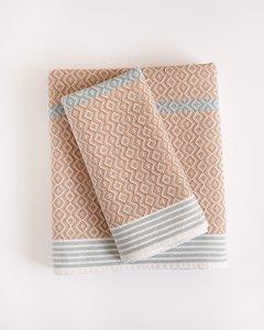 Mungo Itawuli towel Rose quartz