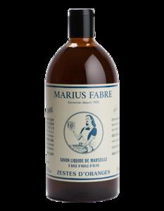 Marseille olijfolie zeep met sinaasappelschil